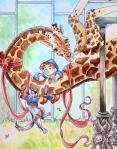 Billy and Giraffe